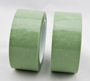 Silicone adhesive duct green PET film splicing tape for release paper bonding