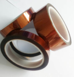Amber Color Kapton Polyimide Tape Class H Insulation Feature For Electrical Coils